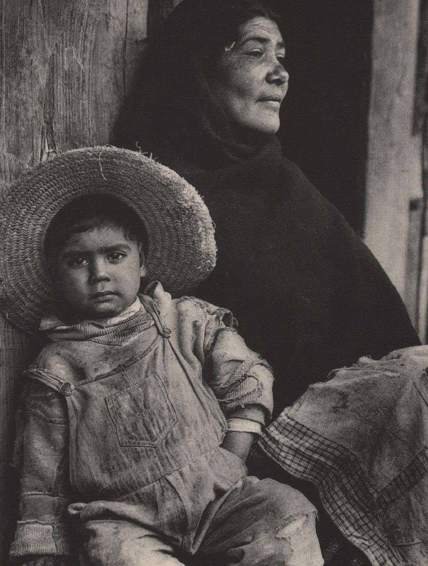 ANTON BRUEHL - Mother and Son - Toluca