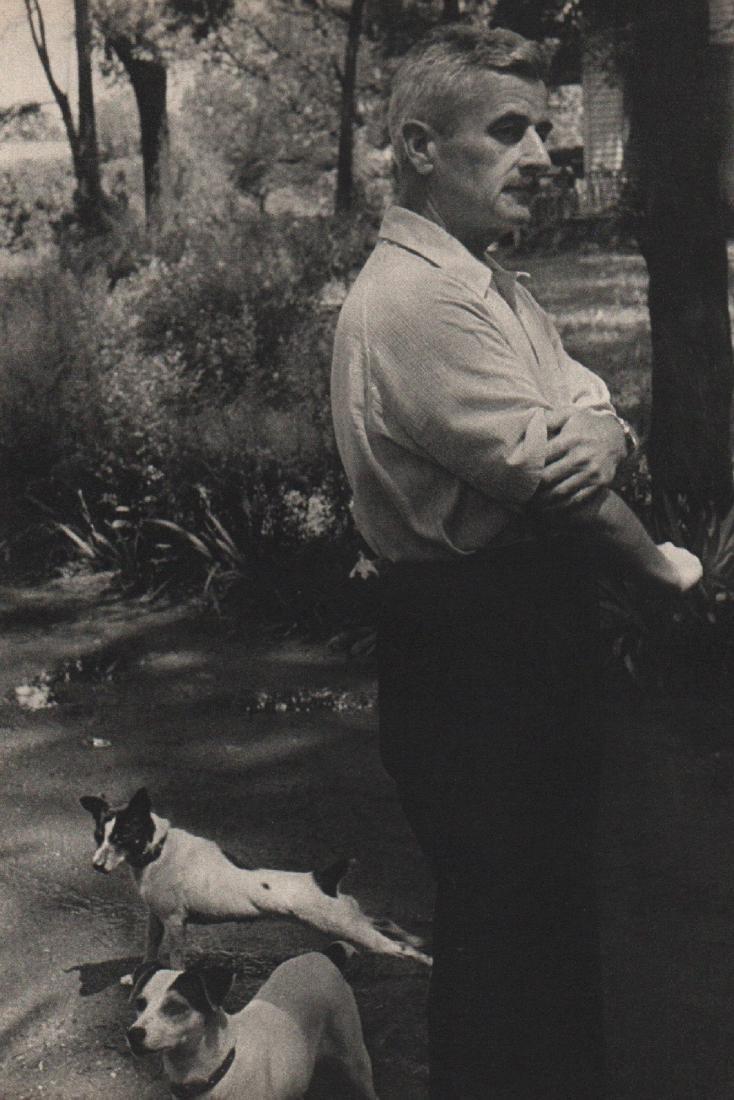 HENRI CARTIER-BRESSON - William Faulkner 1947