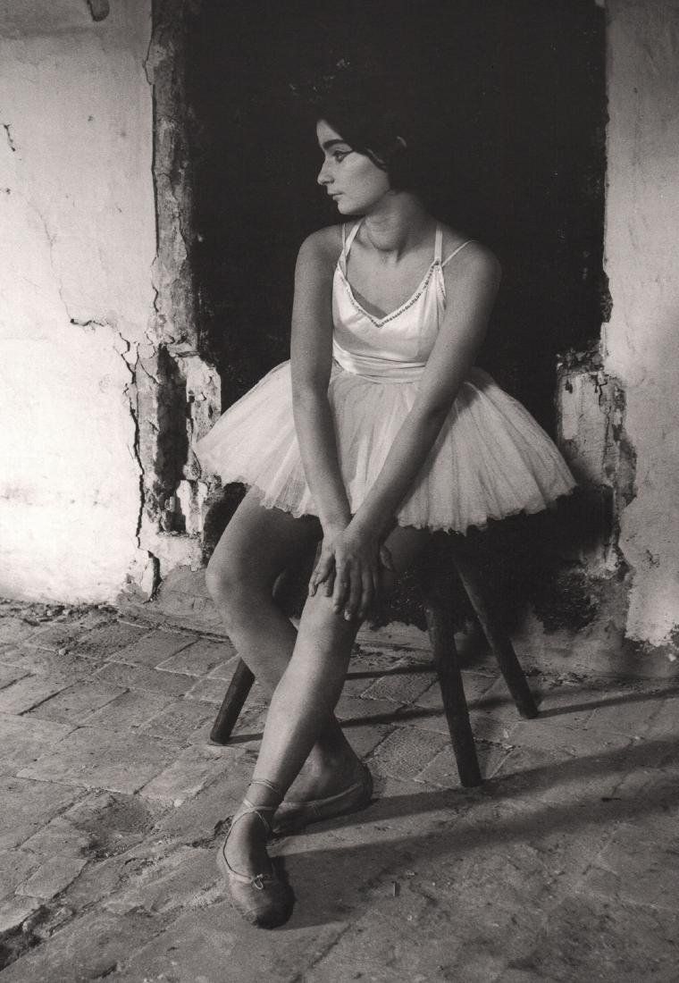 LUCIEN CLERGUE -  Young Girl in Ballet