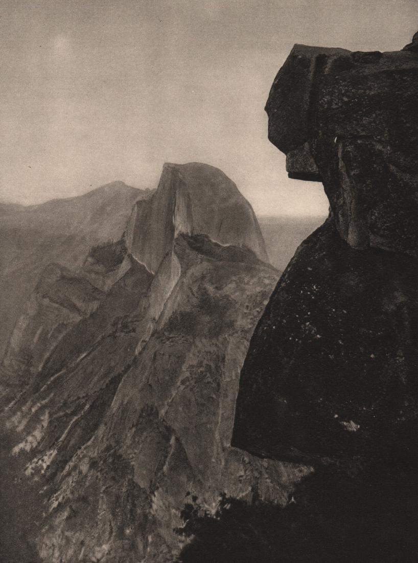 E.O. HOPPE - Half Dome and Sierra Nevada