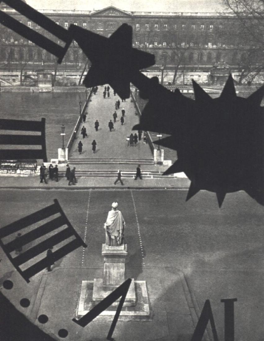 ANDRE KERTESZ - Pont des Arts, Paris 1932