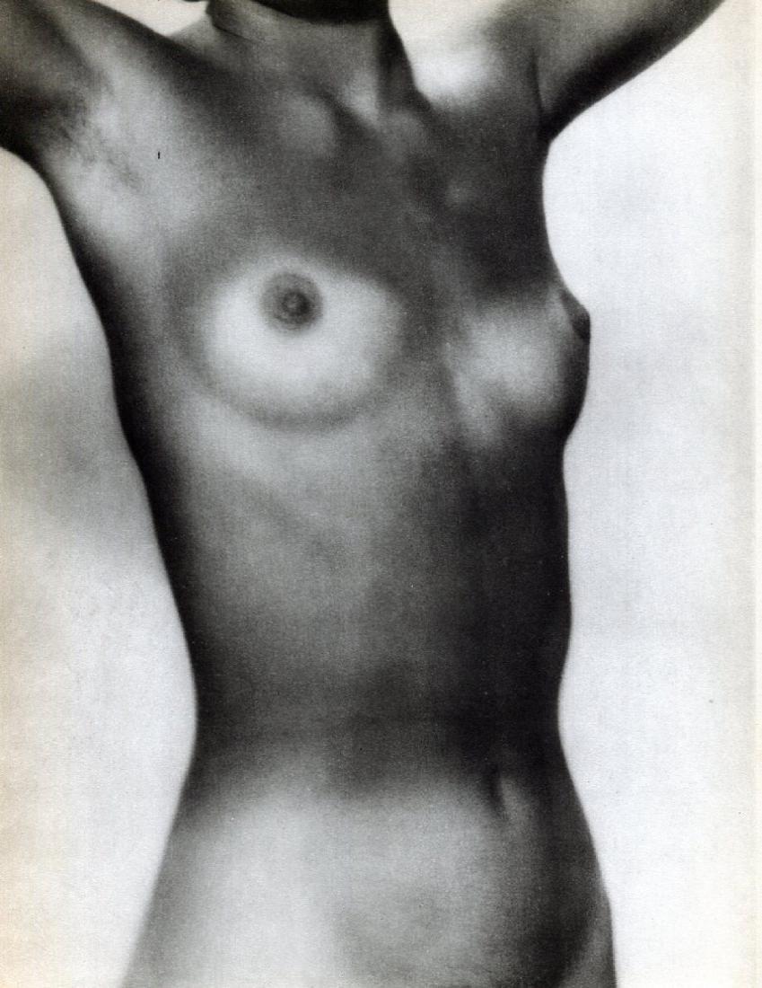 MAN RAY -  Nude Torso