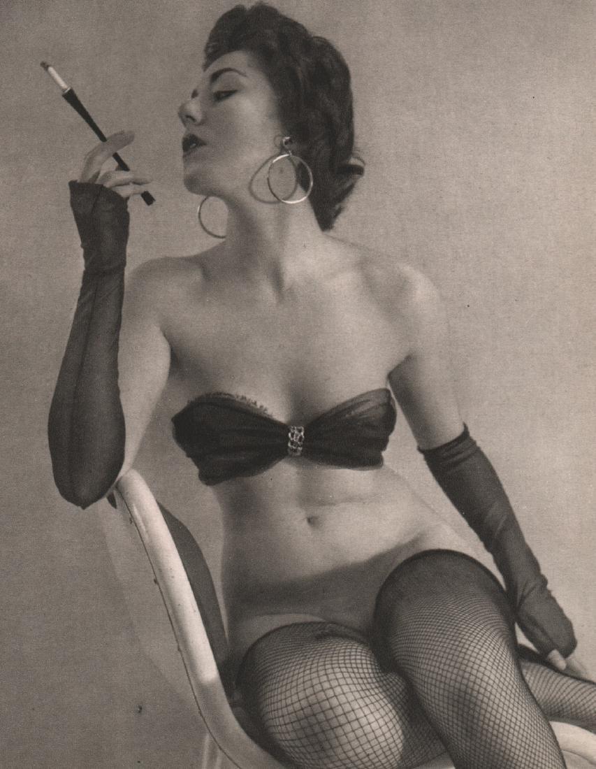 ERWIN MARTON - Woman with Cigarette