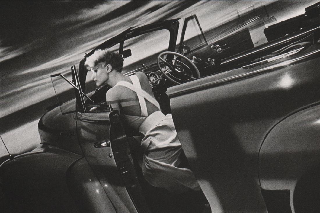 SARAH MOON - Model in Automobile, 1985