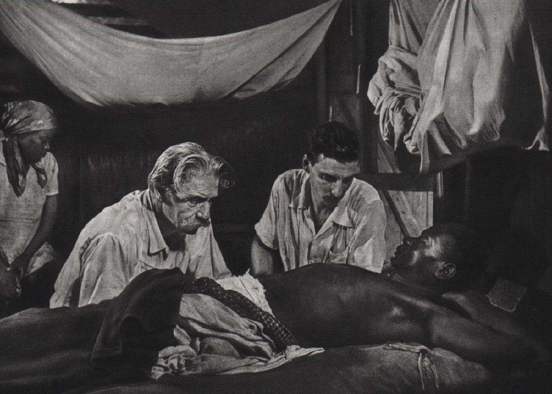 W. EUGENE SMITH - Dr. Albert Schweitzer, 1954