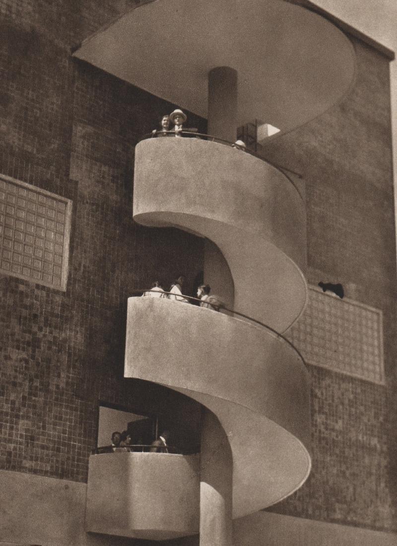 JOSEF SUDEK - Staircase, 1928