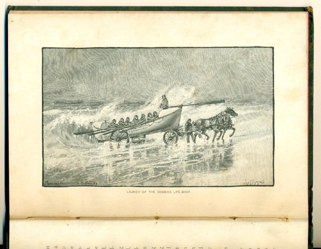 1886 David Porter Dobbins Life Boat US Life Saving Book - 4