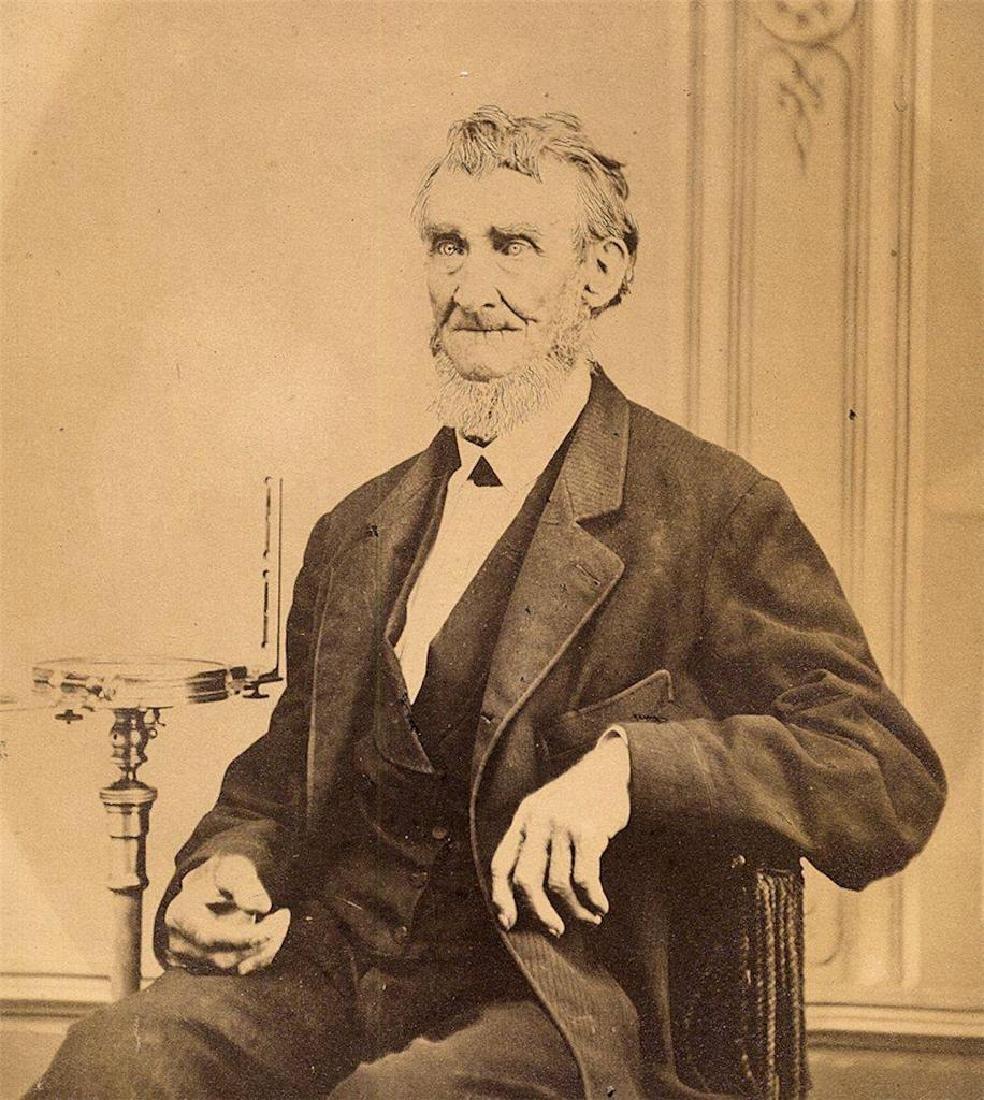 1860 Occupational Portrait, Senior Surveyor Compass
