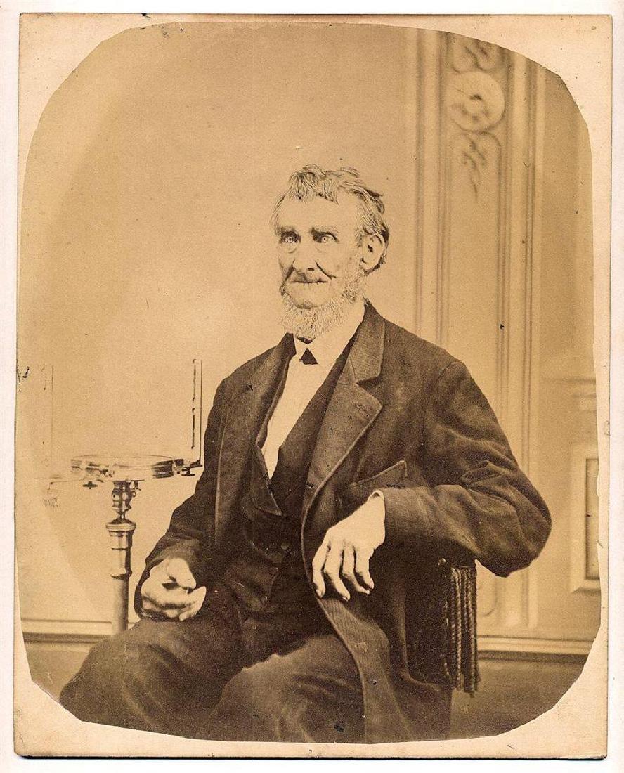 1860 Occupational Portrait, Senior Surveyor Compass - 2