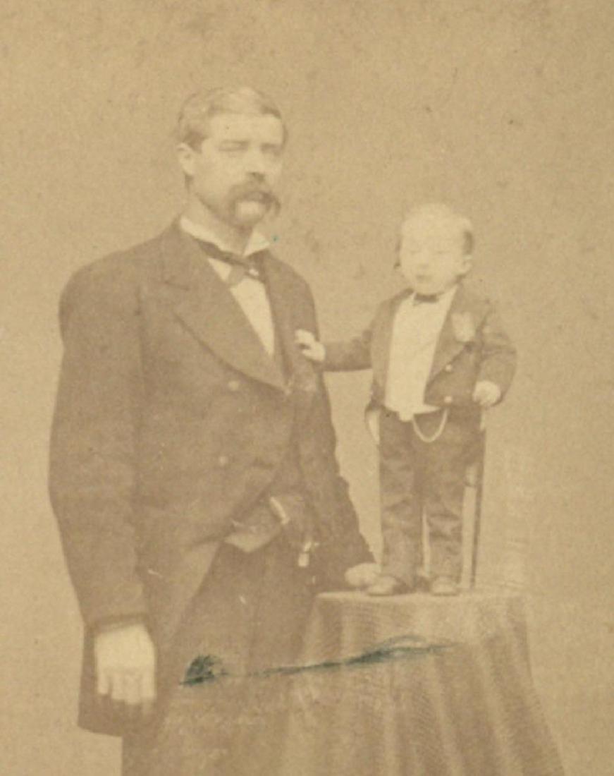 1870 Circus Sideshow Freak Barnum Dwarf Commodore