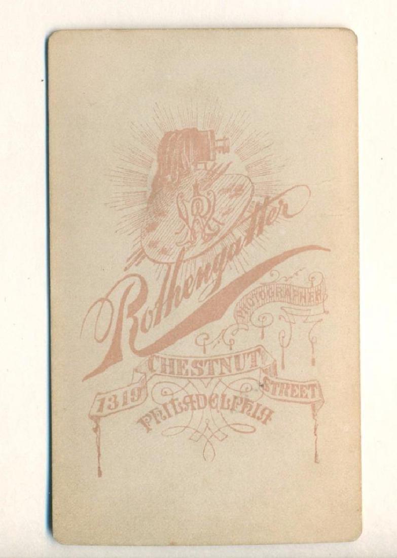 1870 Circus Sideshow Freak Barnum Dwarf Commodore - 3