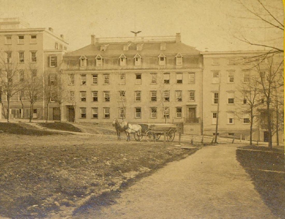 1870 Moravian Young Ladies Seminary at Bethlehem