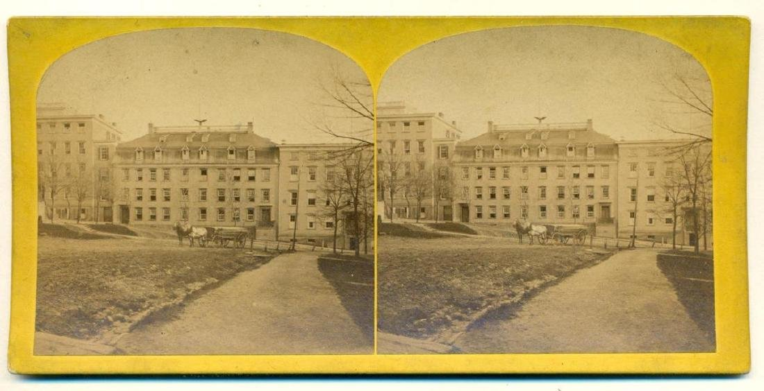 1870 Moravian Young Ladies Seminary at Bethlehem - 2