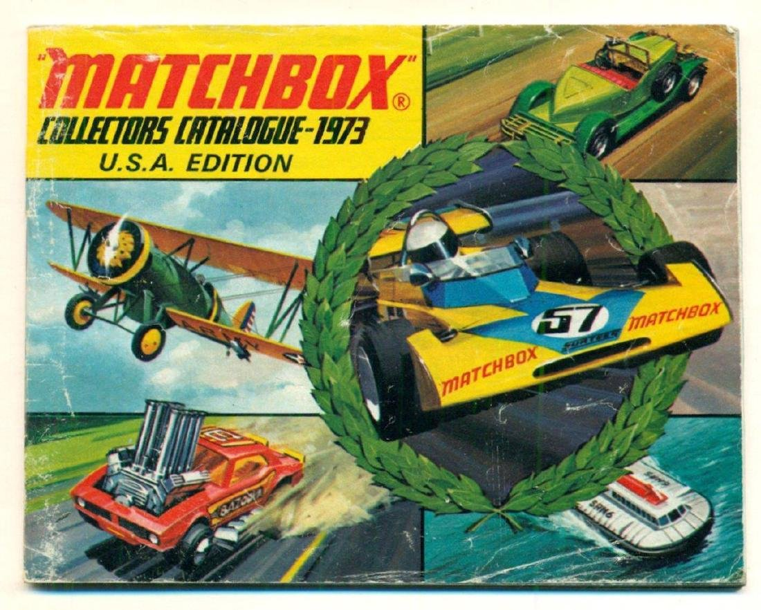 Graphic Vintage 1973 Matchbox Collector Catalog