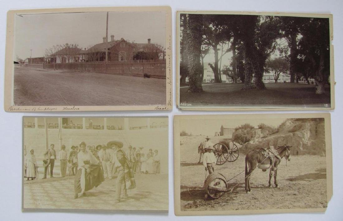 Lot of 31 1890 Mexico Sabinas River Monclova Photos - 3