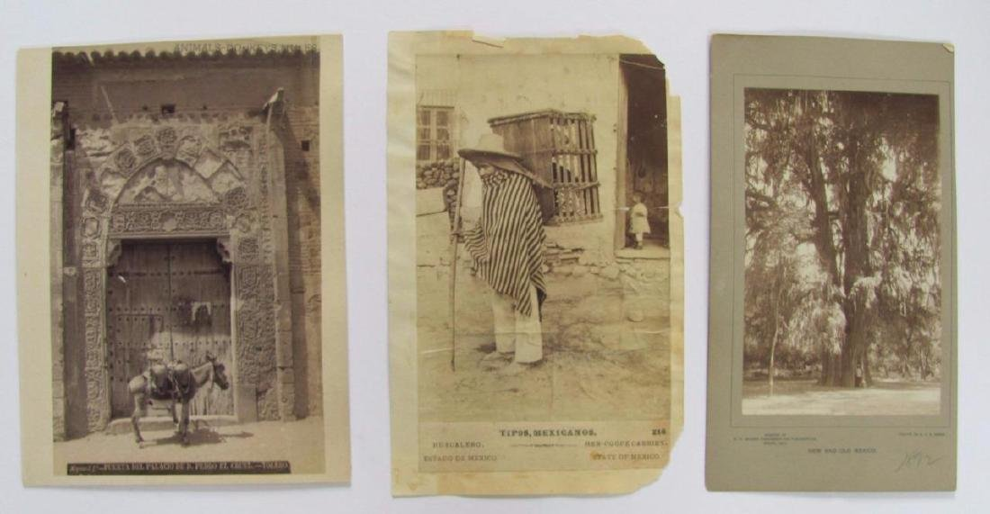 Lot of 31 1890 Mexico Sabinas River Monclova Photos - 4