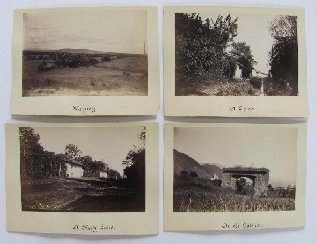 Lot of 31 1890 Mexico Sabinas River Monclova Photos - 5
