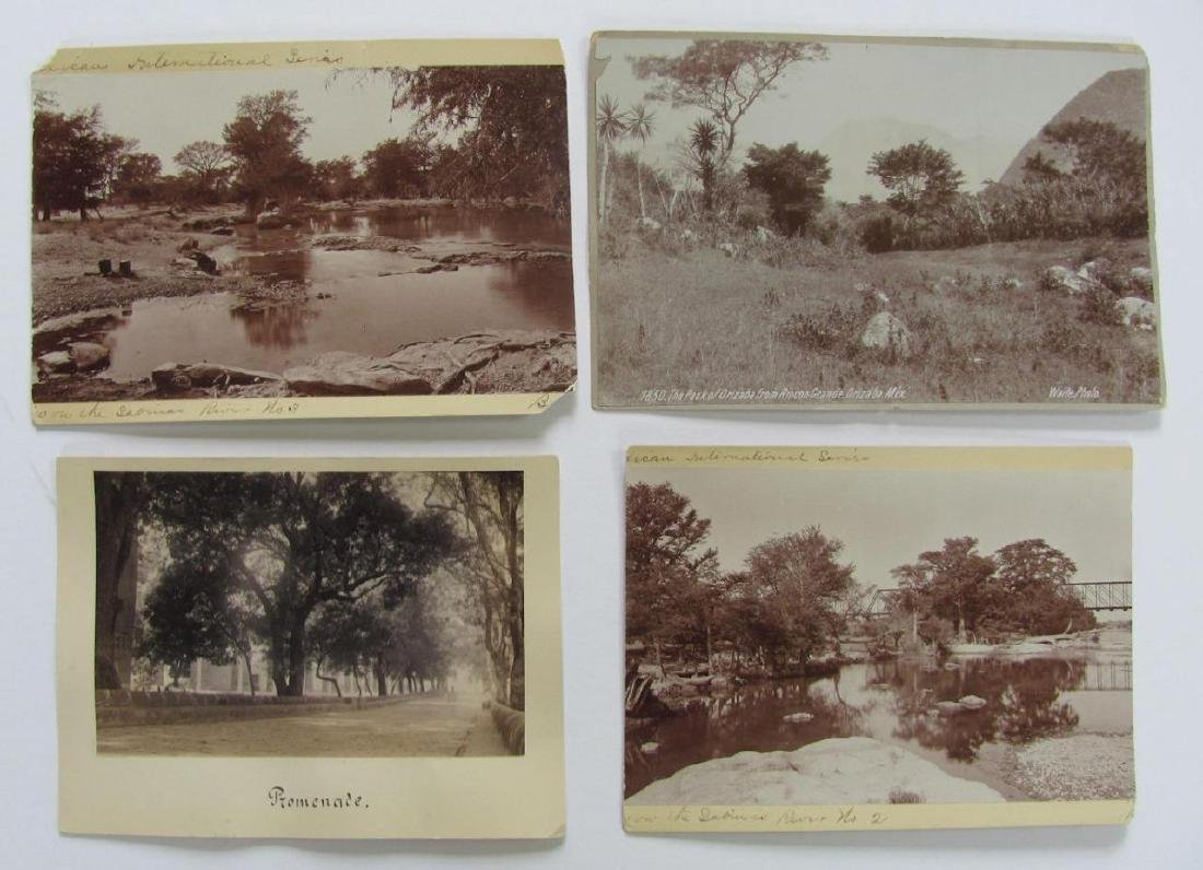 Lot of 31 1890 Mexico Sabinas River Monclova Photos - 6
