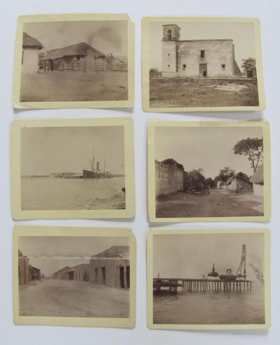 Lot of 31 1890 Mexico Sabinas River Monclova Photos - 7