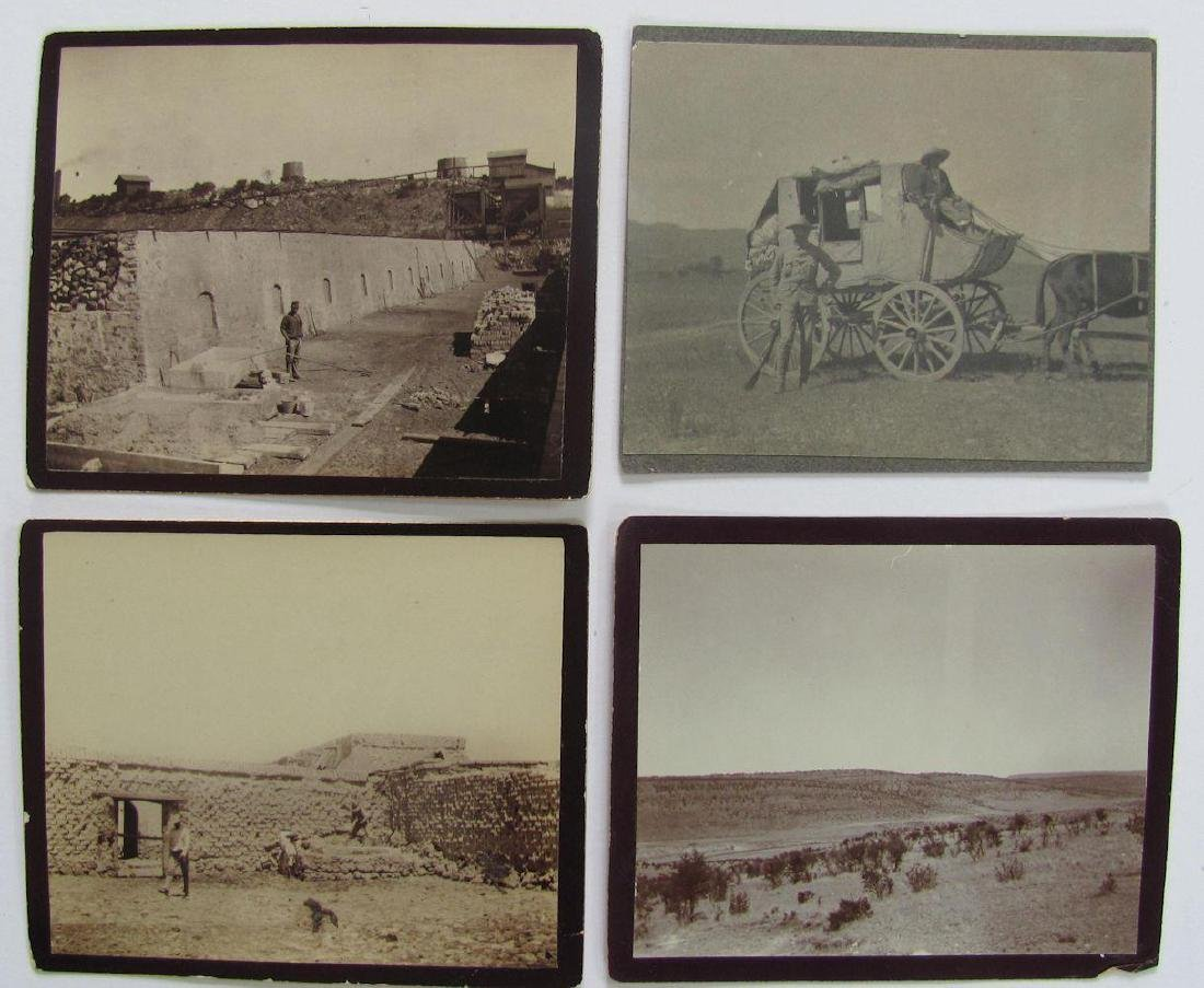Lot of 31 1890 Mexico Sabinas River Monclova Photos - 8