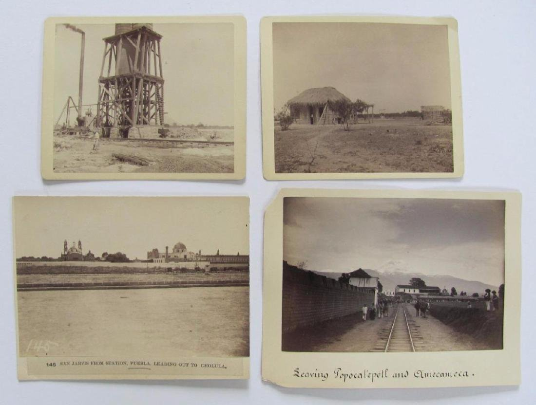 Lot of 31 1890 Mexico Sabinas River Monclova Photos - 9