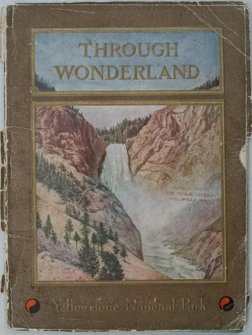 1910 'Through Wonderland' Yellowstone Brouchure