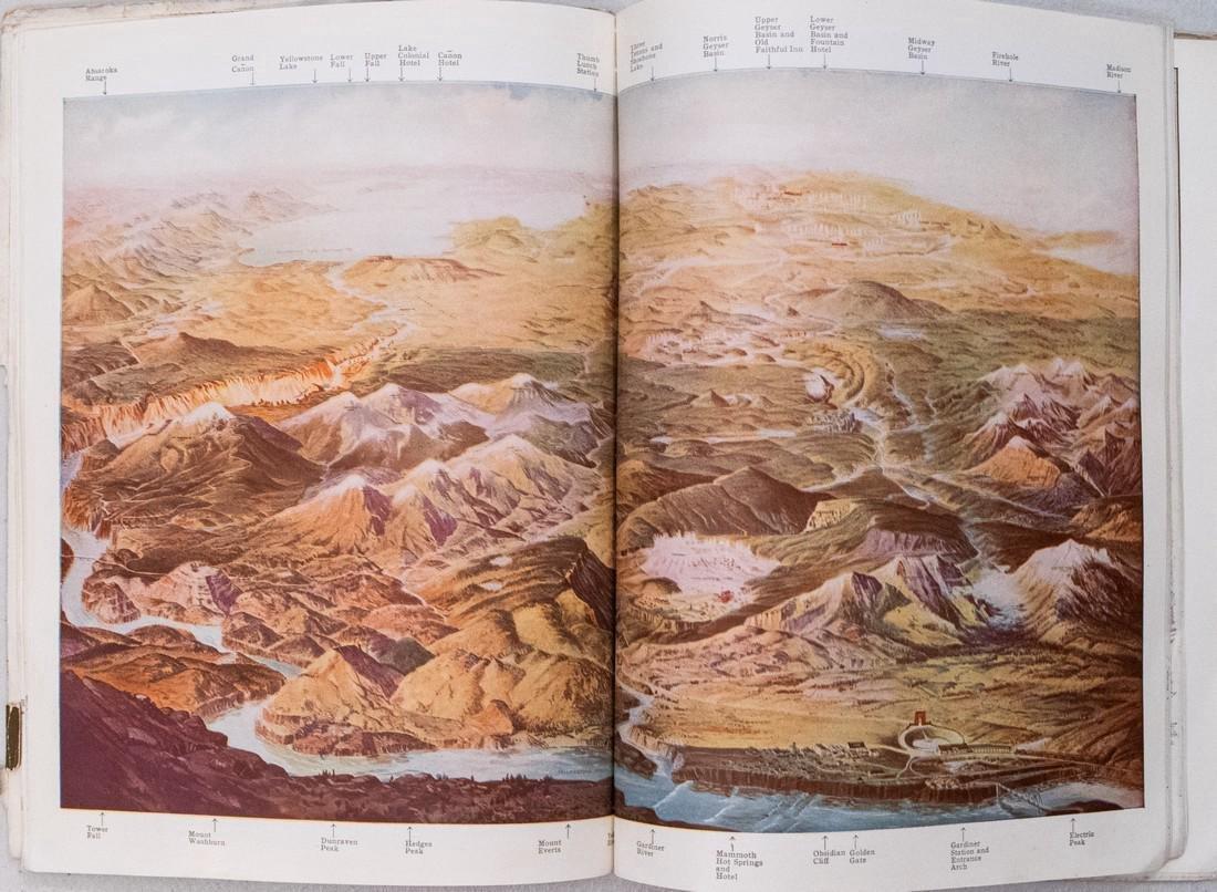 1910 'Through Wonderland' Yellowstone Brouchure - 2