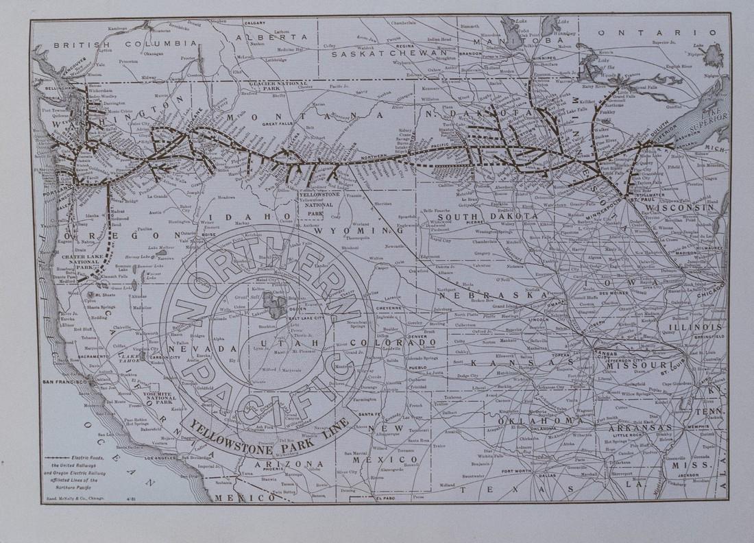 1910 'Through Wonderland' Yellowstone Brouchure - 3