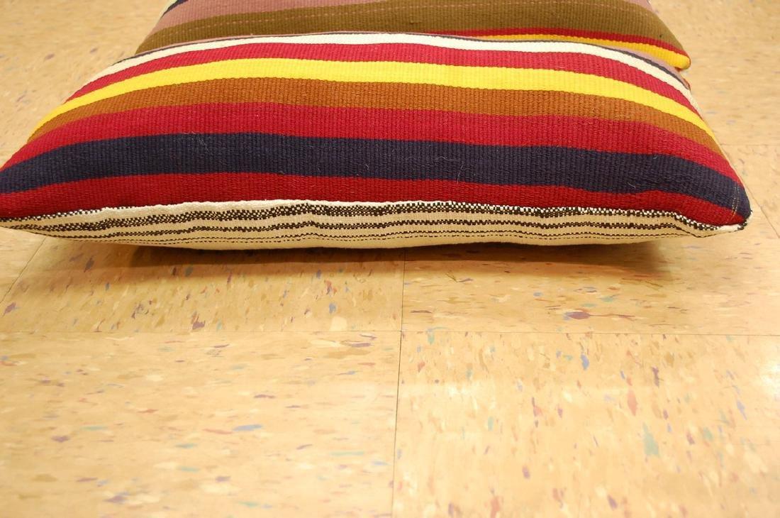 2 Antique Kilim Rug Wool Pillows 1.4x1.9 - 3