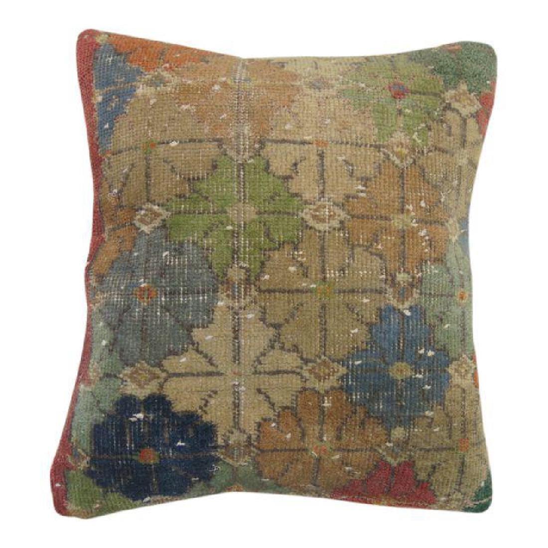 Turkish Boho Chic Deco Rug Pillow 1.8x1.6