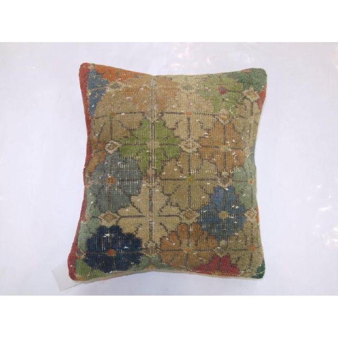 Turkish Boho Chic Deco Rug Pillow 1.8x1.6 - 2