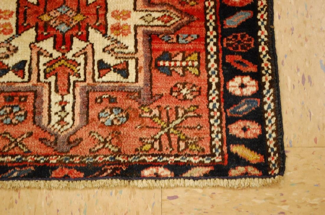 Persian Heriz Gharaje Karaje Rug 2.4x4 - 3