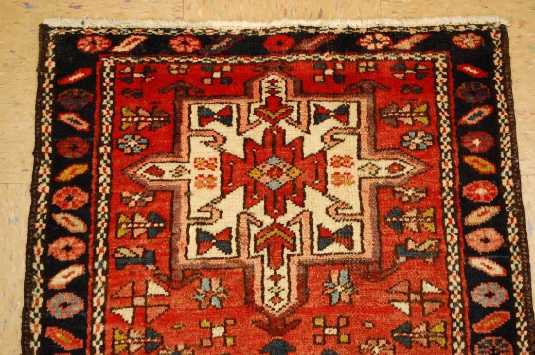 Persian Heriz Gharaje Karaje Rug 2.4x4 - 4