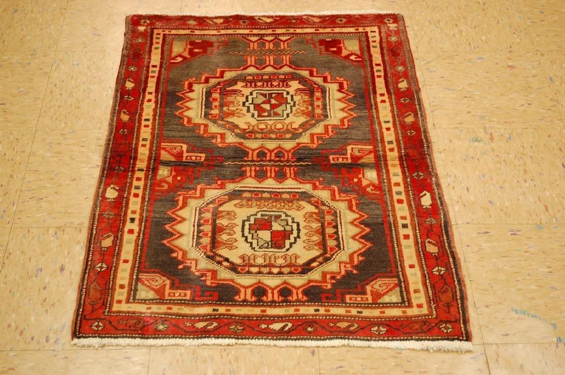 Shirvan Kazak Design Caucasian Rug 2.5x3.6