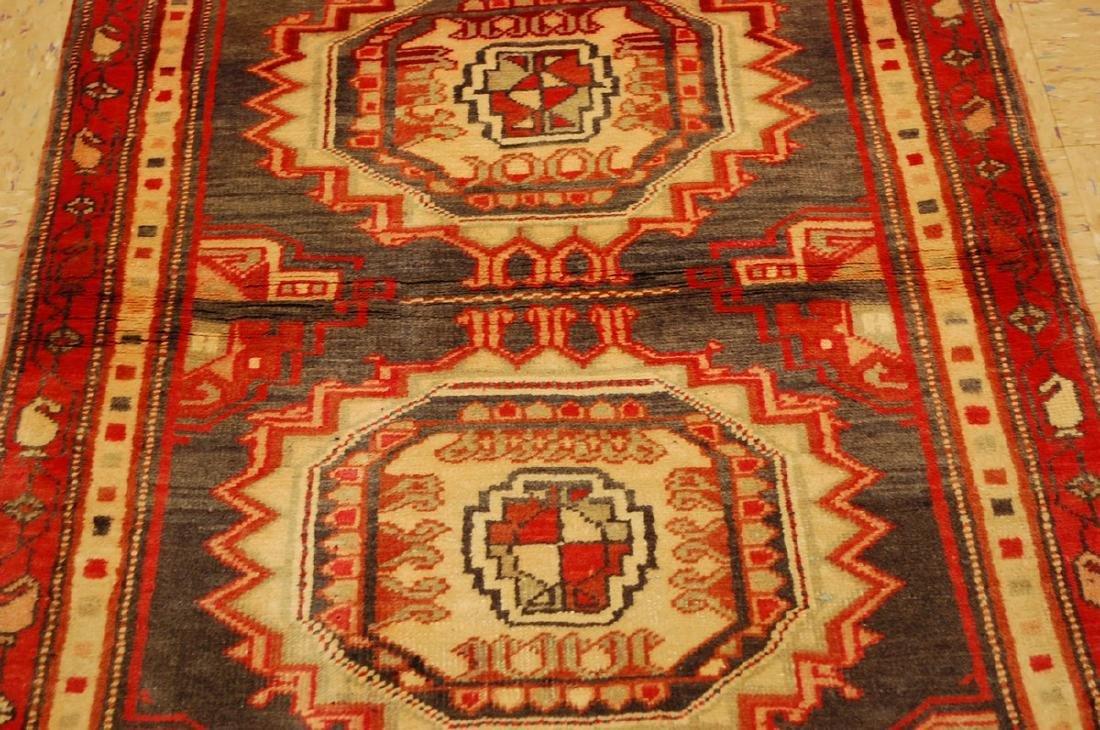 Shirvan Kazak Design Caucasian Rug 2.5x3.6 - 4