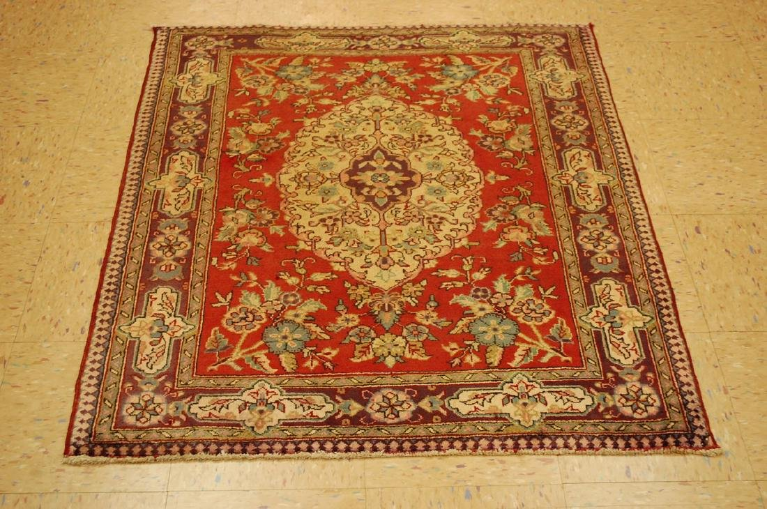 Persian Bijar Rug 3.6x4.1