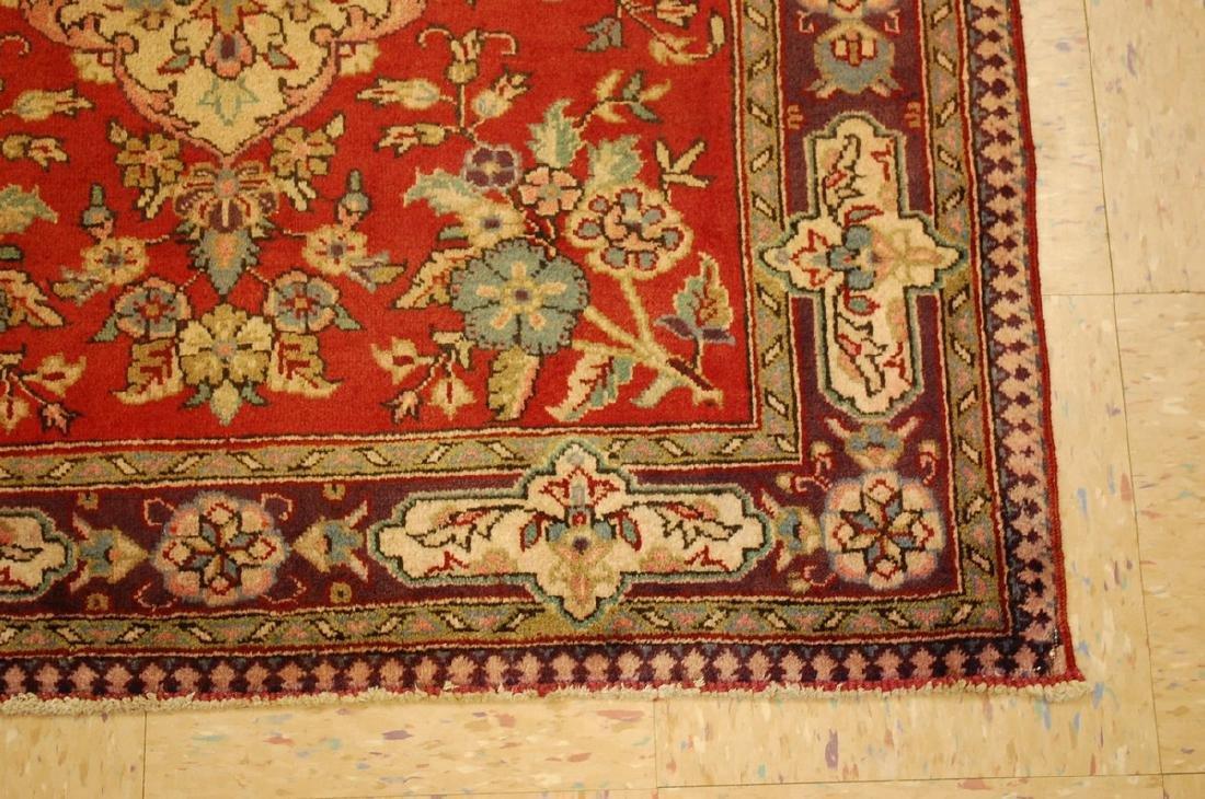 Persian Bijar Rug 3.6x4.1 - 2