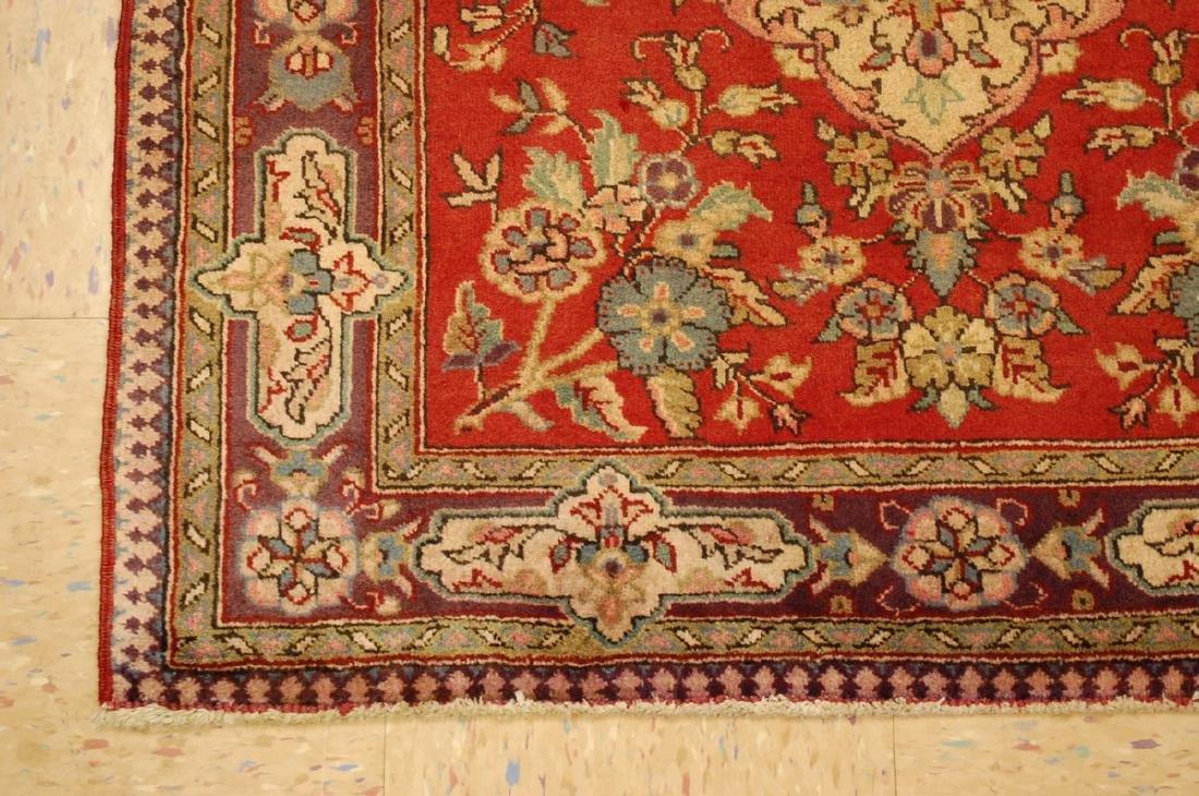 Persian Bijar Rug 3.6x4.1 - 3