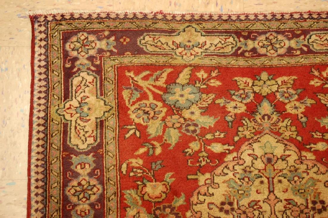 Persian Bijar Rug 3.6x4.1 - 4