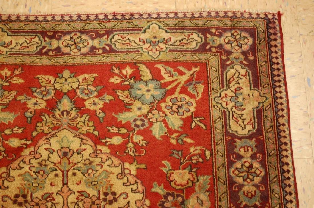 Persian Bijar Rug 3.6x4.1 - 5