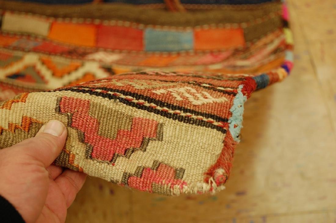 Functional Caucasian Soumak Cargo Horse Camel Bag 2x5 - 4