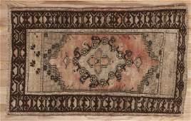 Turkish Oushak Wool Rug 2.5x3.10