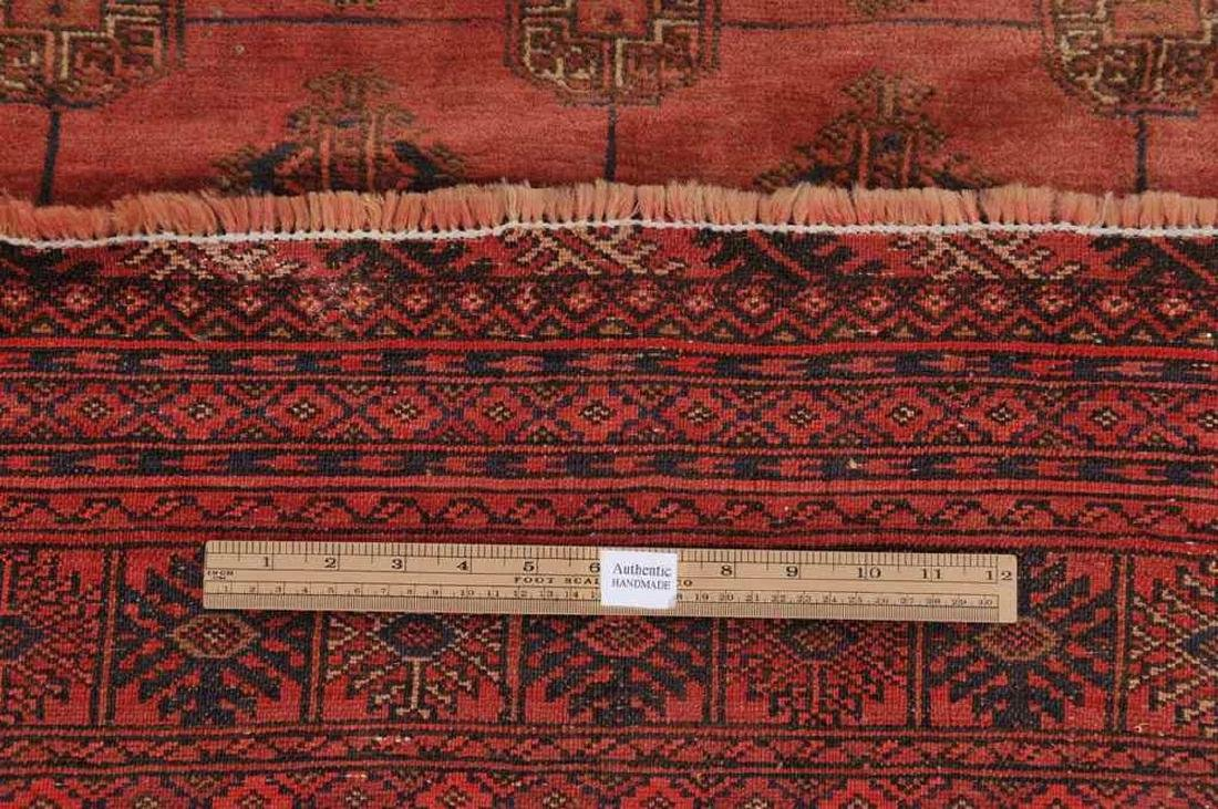 Semi-Antique Pakistan Bokhara Hand-Knotted Rug 4.5x5.8 - 4