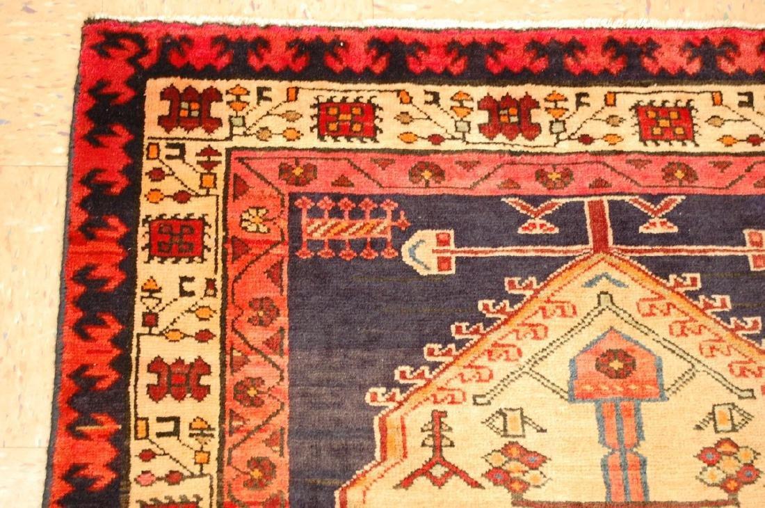 Persian Heriz Rug 3.8x7.7 - 4