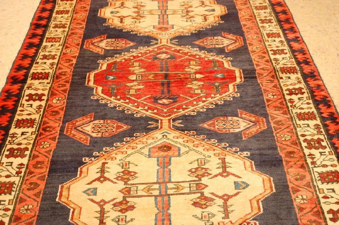Persian Heriz Rug 3.8x7.7 - 7