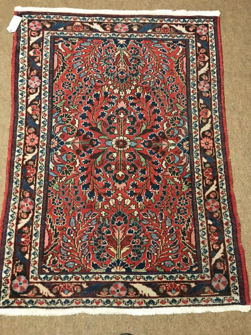 Antique Hand Woven Persian Lillian Rug 3.4x4.7