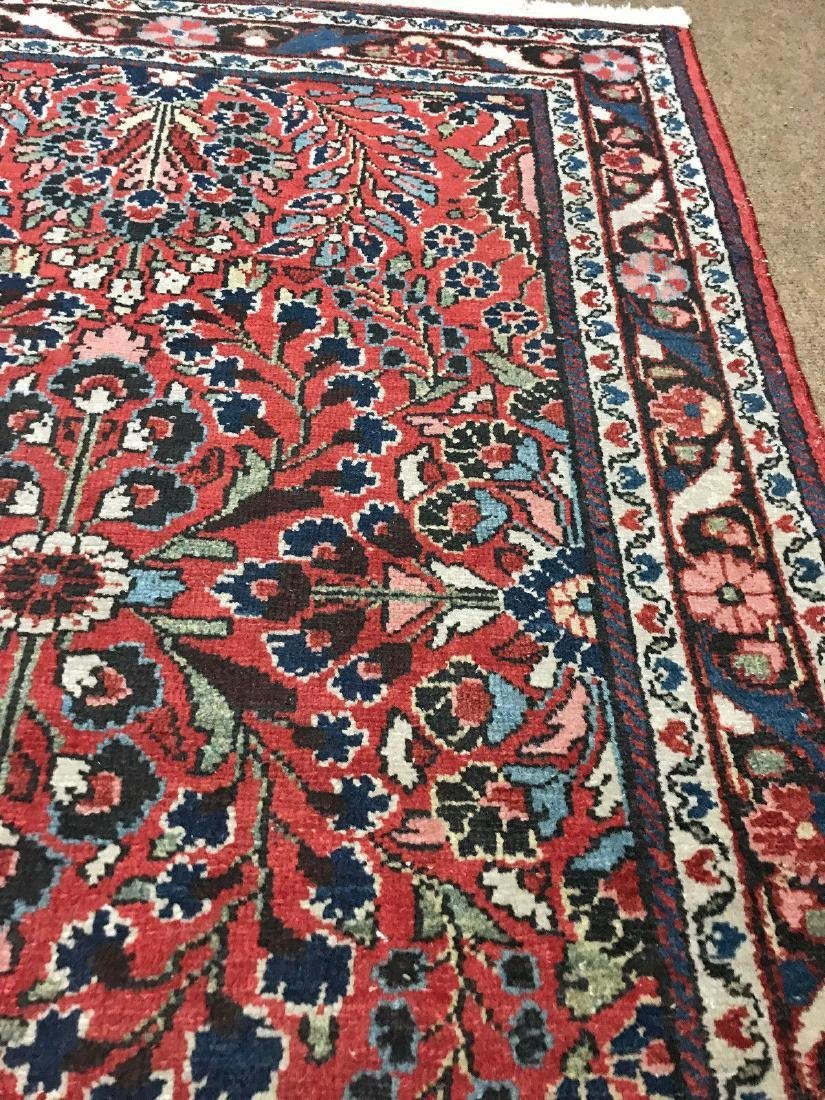 Antique Hand Woven Persian Lillian Rug 3.4x4.7 - 4