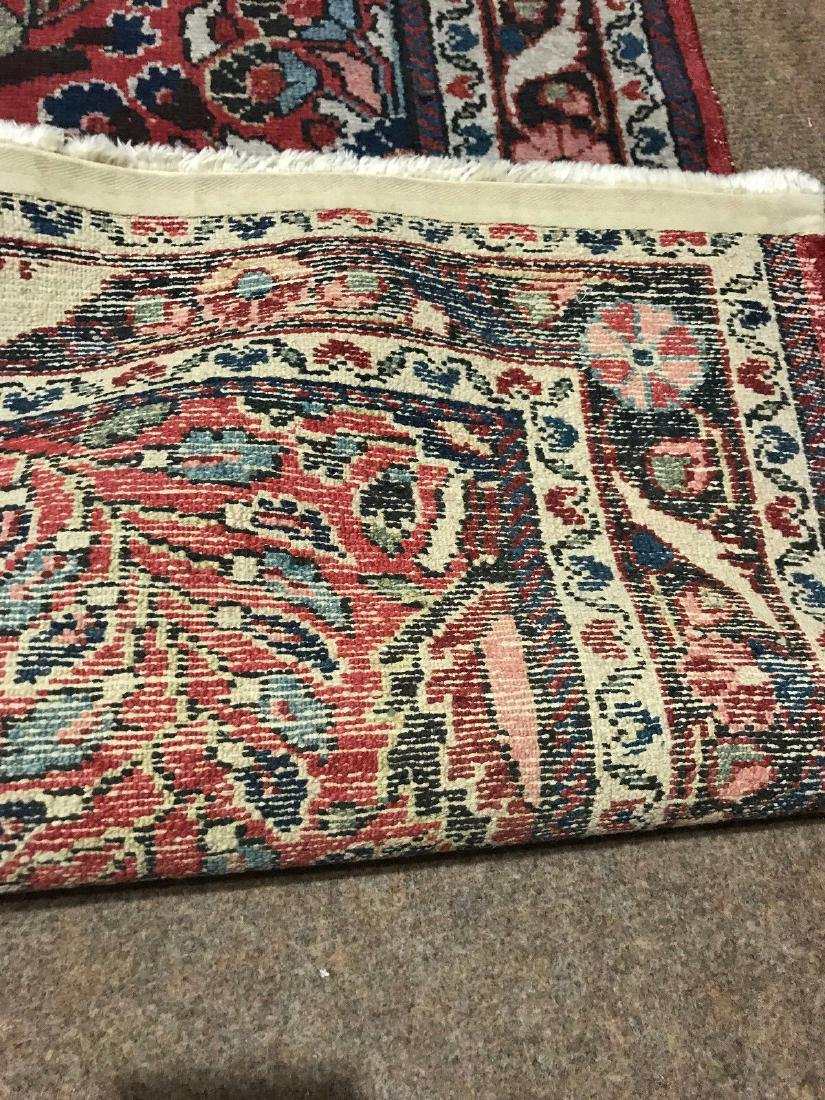 Antique Hand Woven Persian Lillian Rug 3.4x4.7 - 6