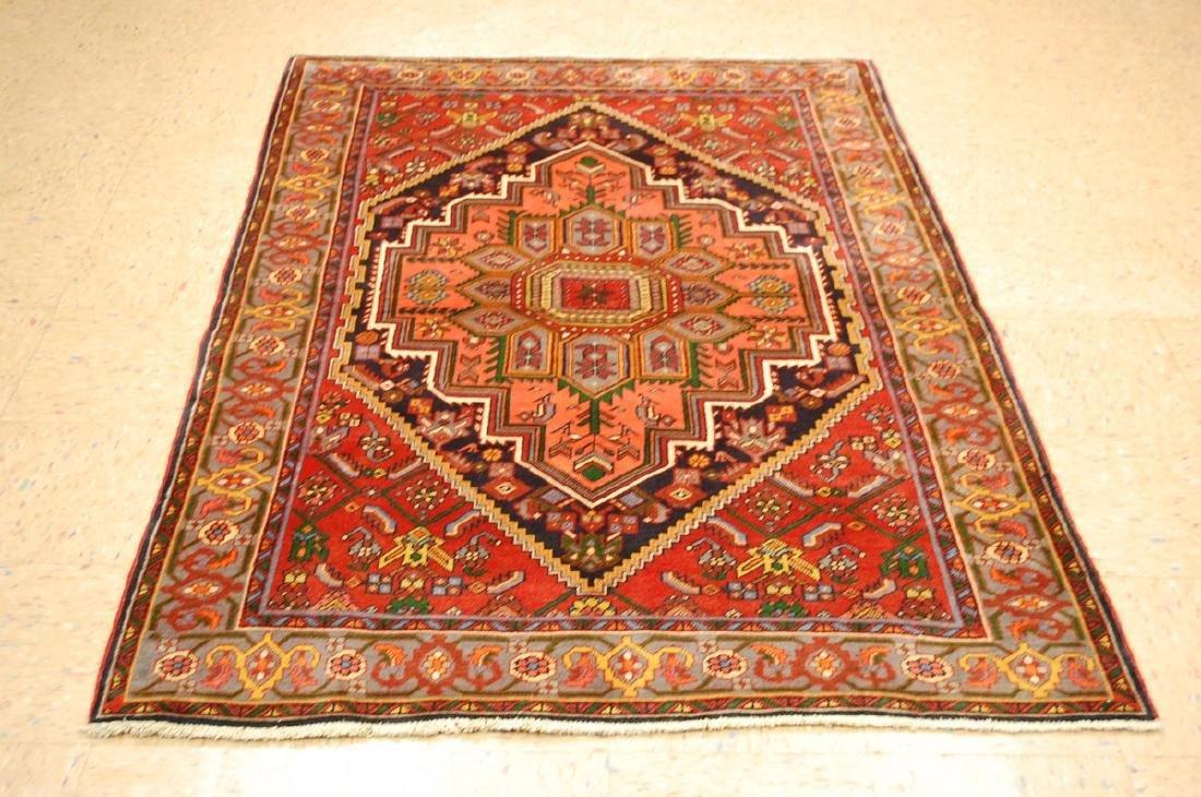 Persian Bijar Rug 4.3x6