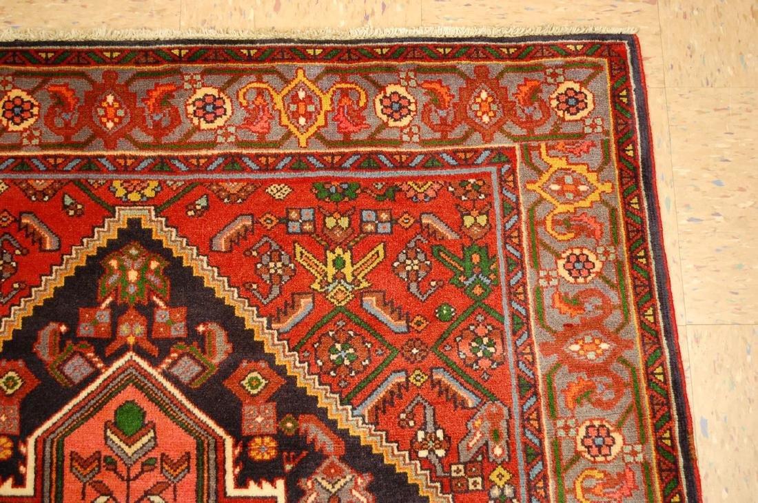 Persian Bijar Rug 4.3x6 - 5